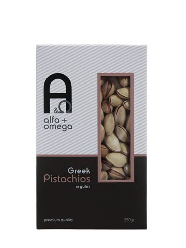 Alfa and Omega Greek Pistachios Unsalted