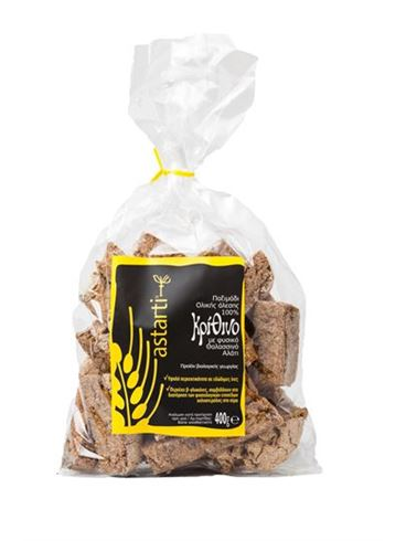 Astarti Organic Rusk with Natural Sea Salt