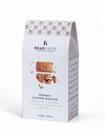Dear Crete Organic Almond Biscuits