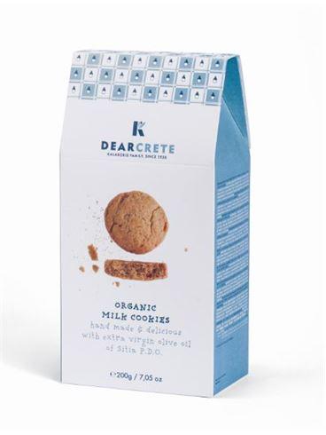 Dear Crete Organic Milk Cookies