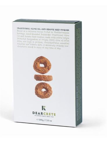 Dear Crete Olive Oil and Sesame Seed Cookies