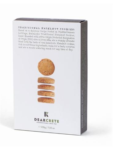 Dear Crete Hazelnut Cookies