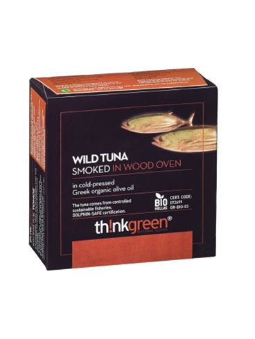 Think Green Smoked Tuna in Organic Olive Oil