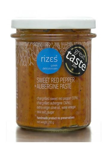 Rizes Sweet Red Pepper and Aubergine Paste