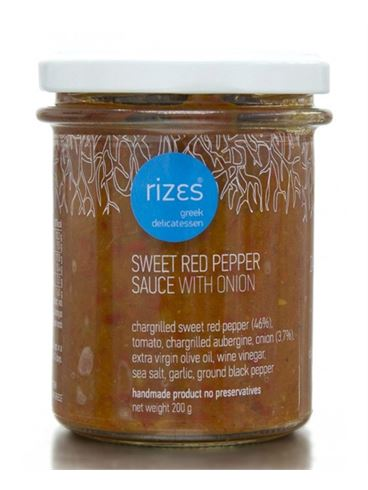 Rizes Sweet Red Pepper Sauce with Onion