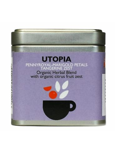 UTOPIA Organic Herbal Blend with organic citrus fruit zest