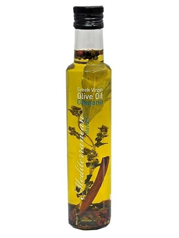 Mediterranean Flavour Greek Extra Virgin Olive Oil With Oregano