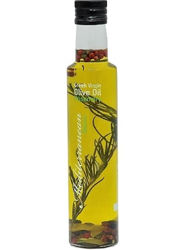 Mediterranean Flavour Greek Extra Virgin Olive Oil With  Rosemary