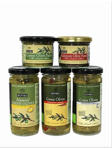 Rovies Organic Olives Combo