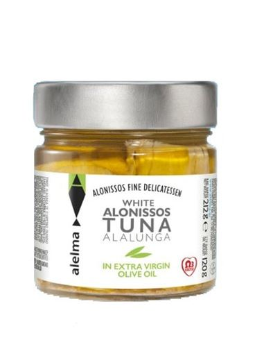 Alelma White Alalunga Alonissos Tuna in Extra Virgin Olive Oil