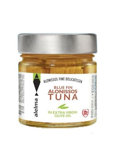 Alelma Blue Fin Alonissos Tuna in Extra Virgin Olive Oil