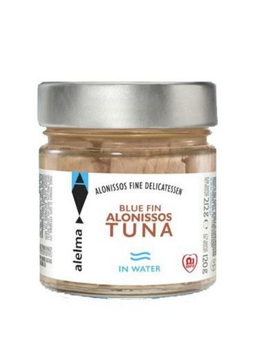 Alelma Blue Fin Alonissos Tuna in Water