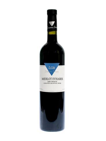 "Domain Evharis ""Merlot"" Red Dry Wine"
