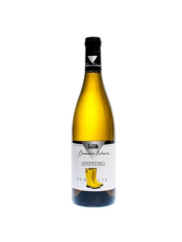 "Domain Evharis ""Assyrtiko sur Lie"" White Dry Wine"