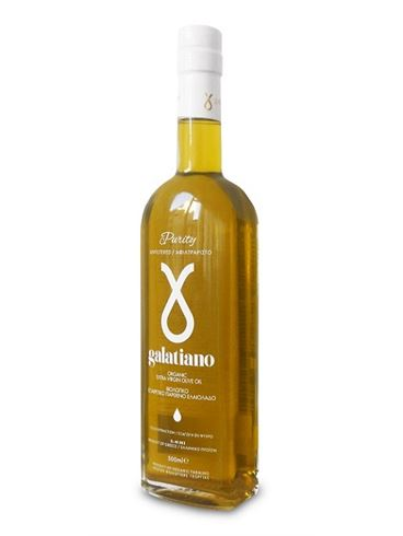 "Galatiano ""Purity"" Extra Virgin Organic Olive Oil Unfiltered"
