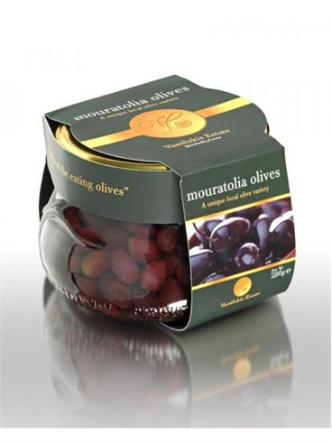 Vassilakis Estate Mouratoelia Olives