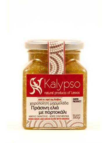 Kalypso Homemade Marmalade with Green Olives and Orange