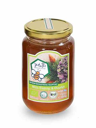 Fasilis Organic Fir and Thyme Honey from Arcadia