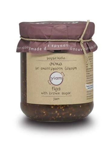 Yiam Fig Jam with Organic Raw Sugar