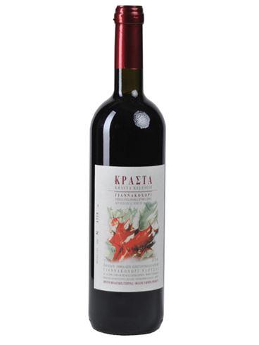 Krasta Organic Red Wine