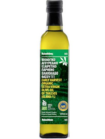 Velouitinos Early Harvest Organic Extra Virgin Olive Oil