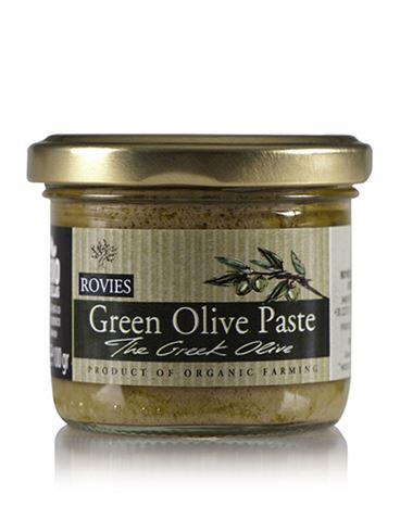 Rovies Organic Green Olive Paste