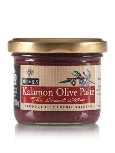 Rovies Organic Kalamon Olive Paste