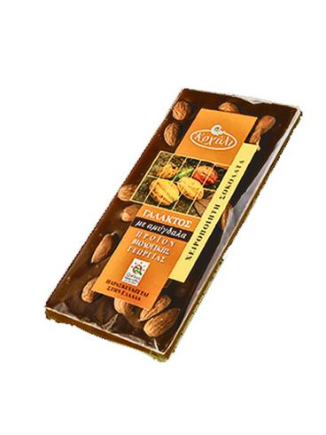 Koxyli Organic Milk Chocolate with Almonds