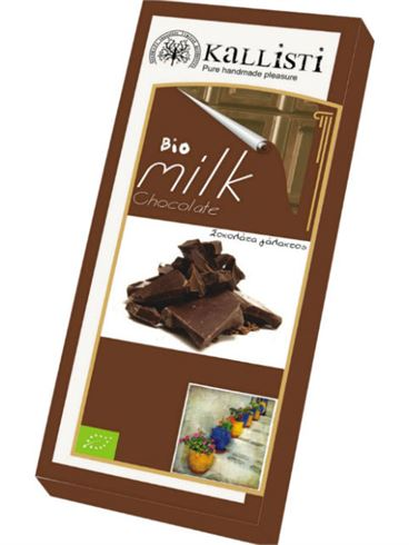 Kallisti Organic Milk Chocolate