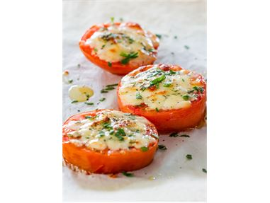 Baked Parmesan Tomatoes
