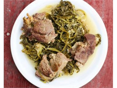 Katsikaki Tsigariasto - aka Goat in Olive Oil